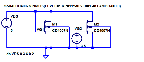 Mosfet Level 1 Model